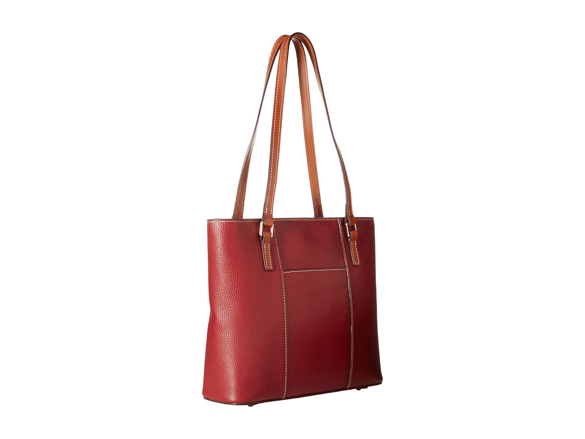 amp; Wine Trim Bourke Small Shopper Dooney Lexington Pebble tan dwY8RYZn