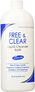 Free & Clear Liquid Cleanser Refill 32 oz ( Pack of 2 )