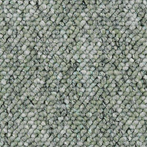 BODENMEISTER BM72181 Teppichboden Auslegware Meterware Schlinge grün 200, 300, 400 und 500 cm breit, verschiedene Längen, Variante, 2 x 2 m
