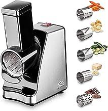 Solis Slice & More 8401 Coupe Legumes Multifonctions - Râpe électrique pour couper, râper, racler et broyer - Acier inoxyd...