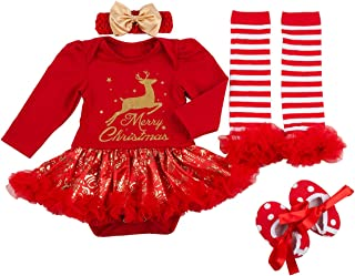 Baby Girls Christmas Outfits Clothes