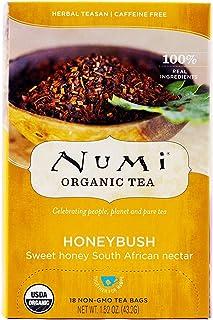 Numi Tea Organic Honeybush Herbal Tea (3x18 bag)