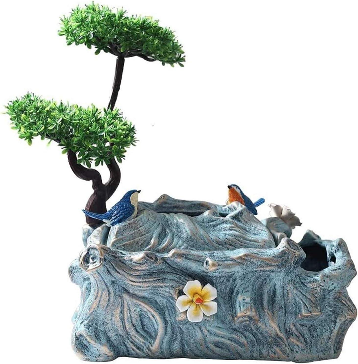 Tissue Box Holder Hand-Carved Decorative Bird Oklahoma City Mall Tiss Dealing full price reduction Flower