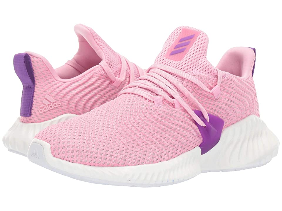 adidas Kids Alphabounce Instinct (Big Kid) (True Pink/Active Purple/Cloud White) Girls Shoes