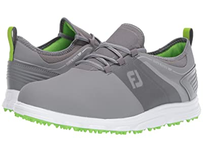 FootJoy Superlites XP Spikeless (Grey/Green) Men