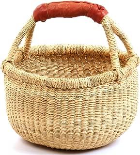 Fair Trade Dye-Free Fully Shaped Mini Market Basket 7-9