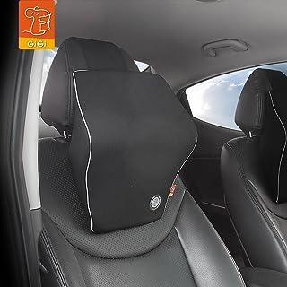 GiGi Memory Foam Car Headrest Black Neck Pillow