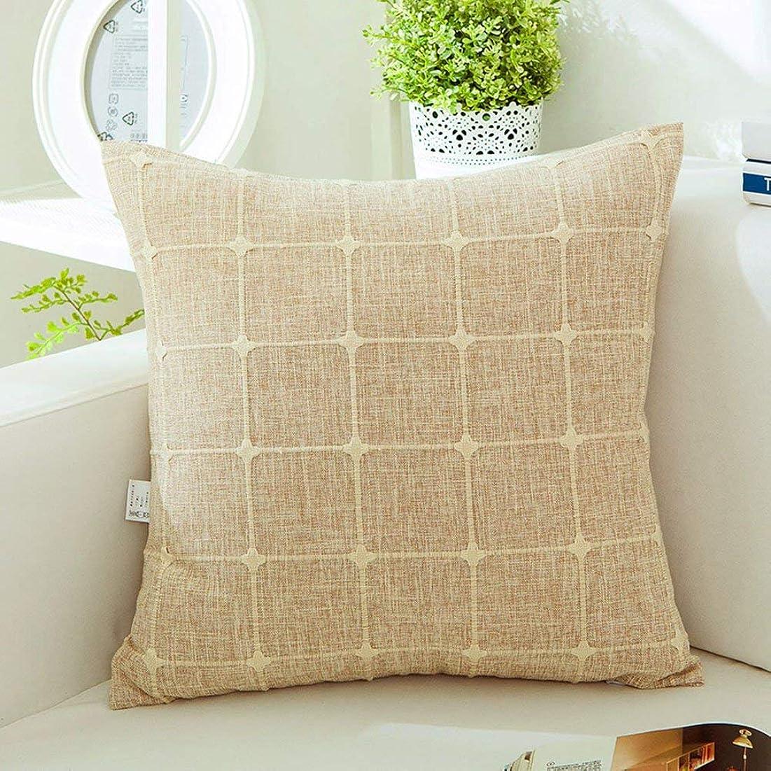 スパイファブリックプレビスサイト2J-QingYun Trade 枕カバー綿格子枕ソファクッションウエスト枕 (Color : Style 4)