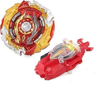 Beyblade Burst Turbo Set, Gyro Burst snurrande snurrande set, 4D Bayblade leksak gåva launcher med box set