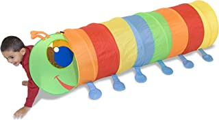 Melissa & Doug Sunny Patch Happy Giddy Crawl-Through Tunnel (Indoor or Outdoor Use, 18