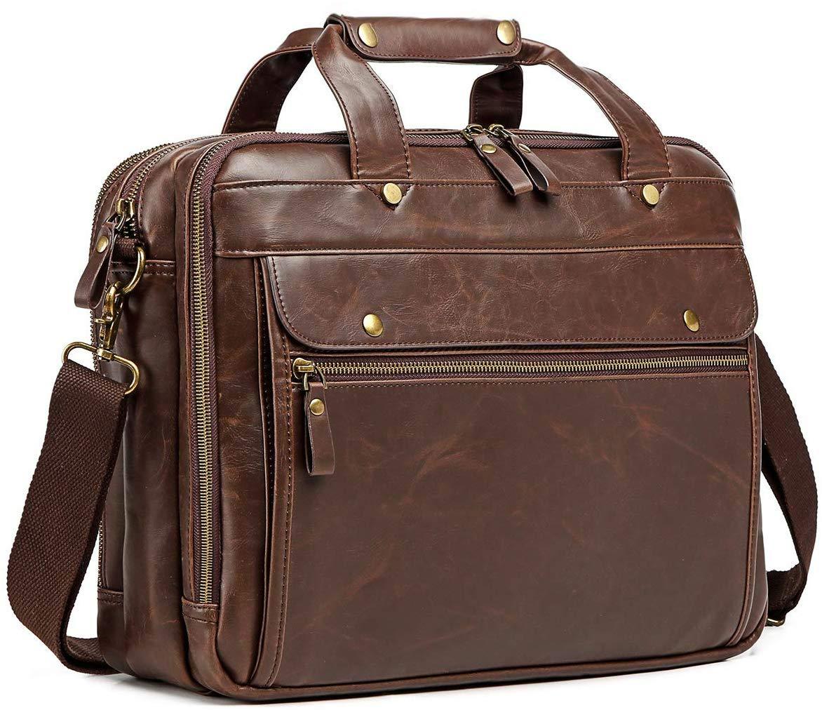 Briefcase Computer Bag Waterproof Business Messenger