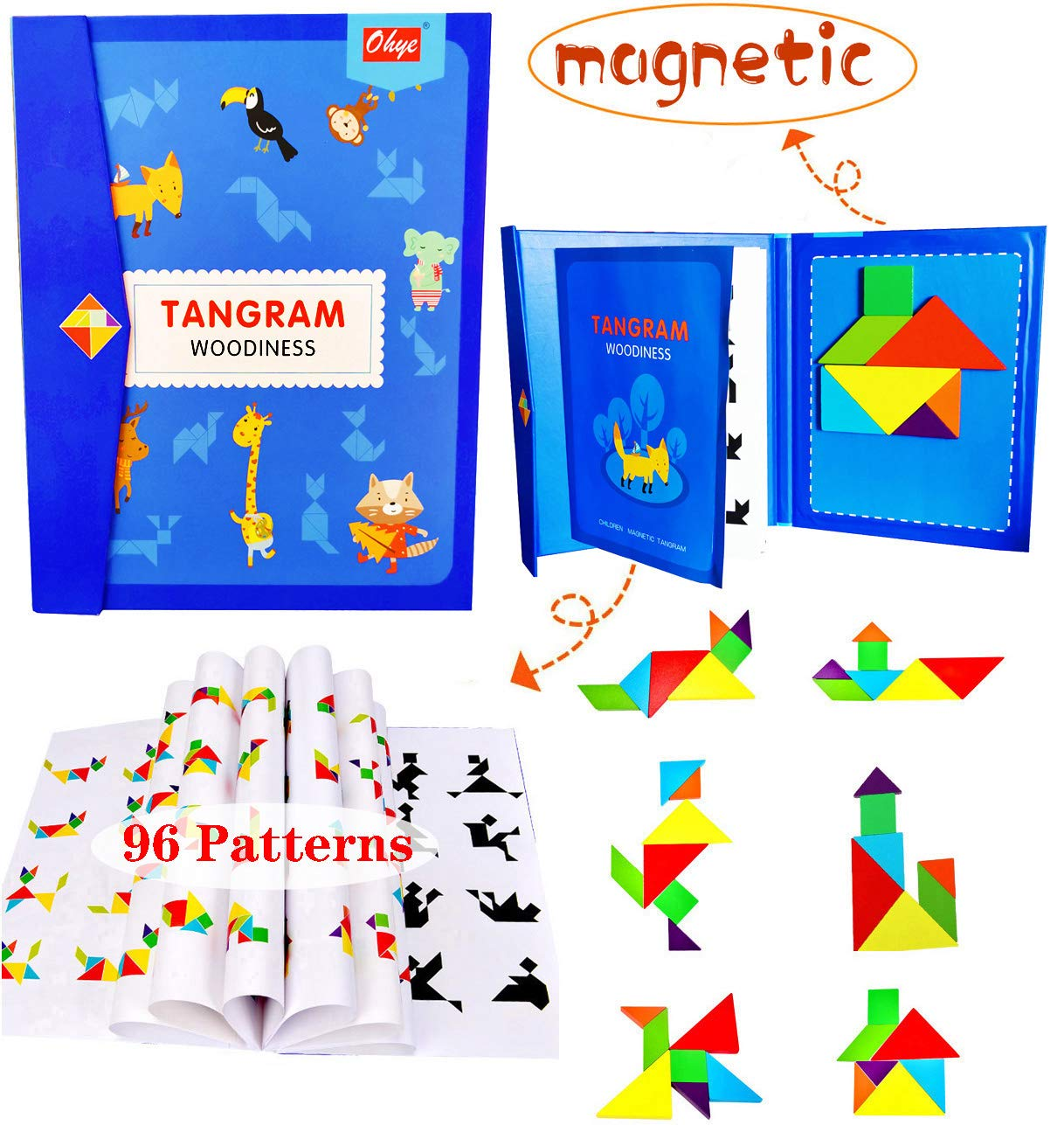 Magnetic Stacking Educational Learning Challenge
