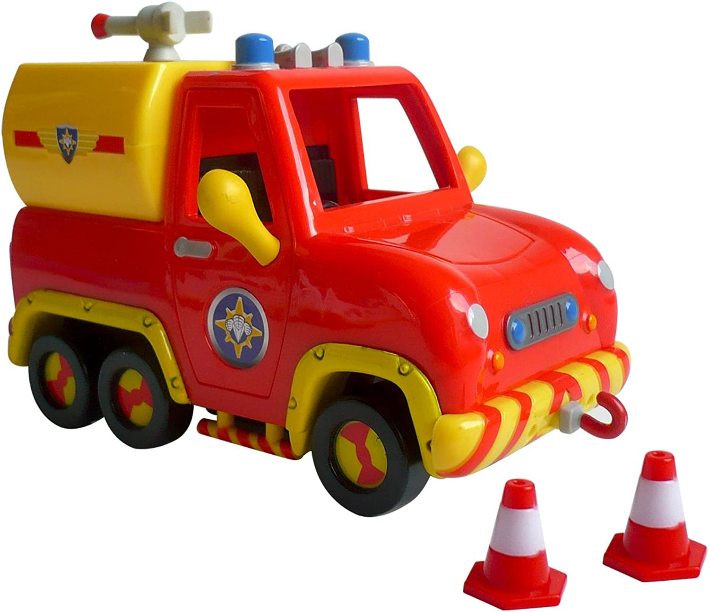 Fireman Sam Venus Fire Truck [Toy]