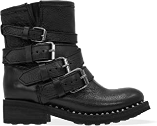 Ash Luxury Fashion Womens TRAPS01 Black Ankle Boots | Season Permanent