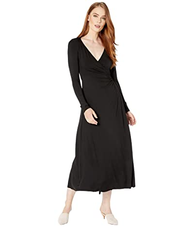 Rachel Pally Jersey Mid-Length Harlow Dress (Black) Women