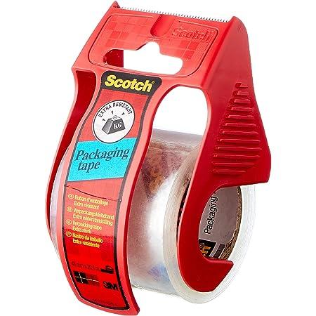 Scotch Ruban d'Emballage - 1 Rouleau - 50mm x 20m - Ruban d'Emballage Résistant pour les Colis, les Cartons de Déménagement et les Boîtes d'Expédition à Usage Intensif