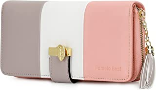 Pomelo Best Damen Geldbörse Mehrfarbig gestreift Portmonee