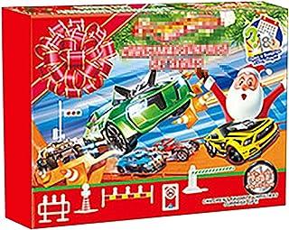 Adventskalender jul, fordon leksak, adventskalender barn med 24 dagars nedräkning dragbilar leksak jul nedräkning kalender...