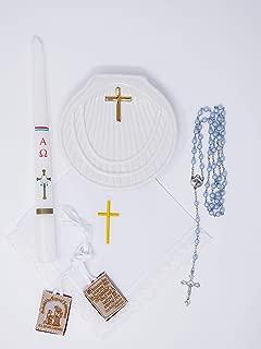 Premium Quality Baptism Kit, Kit de Bautizo (Blue)