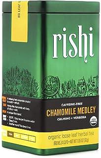 Rishi Tea Chamomile Medley Loose Leaf Herbal Tea | Immune Support, Stress Support, Organic, Nutrient Dense, Caffeine-Free,...