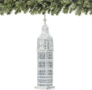 City-Souvenirs Big Ben Christmas Ornament 4.5 Inches Silver London Ornament