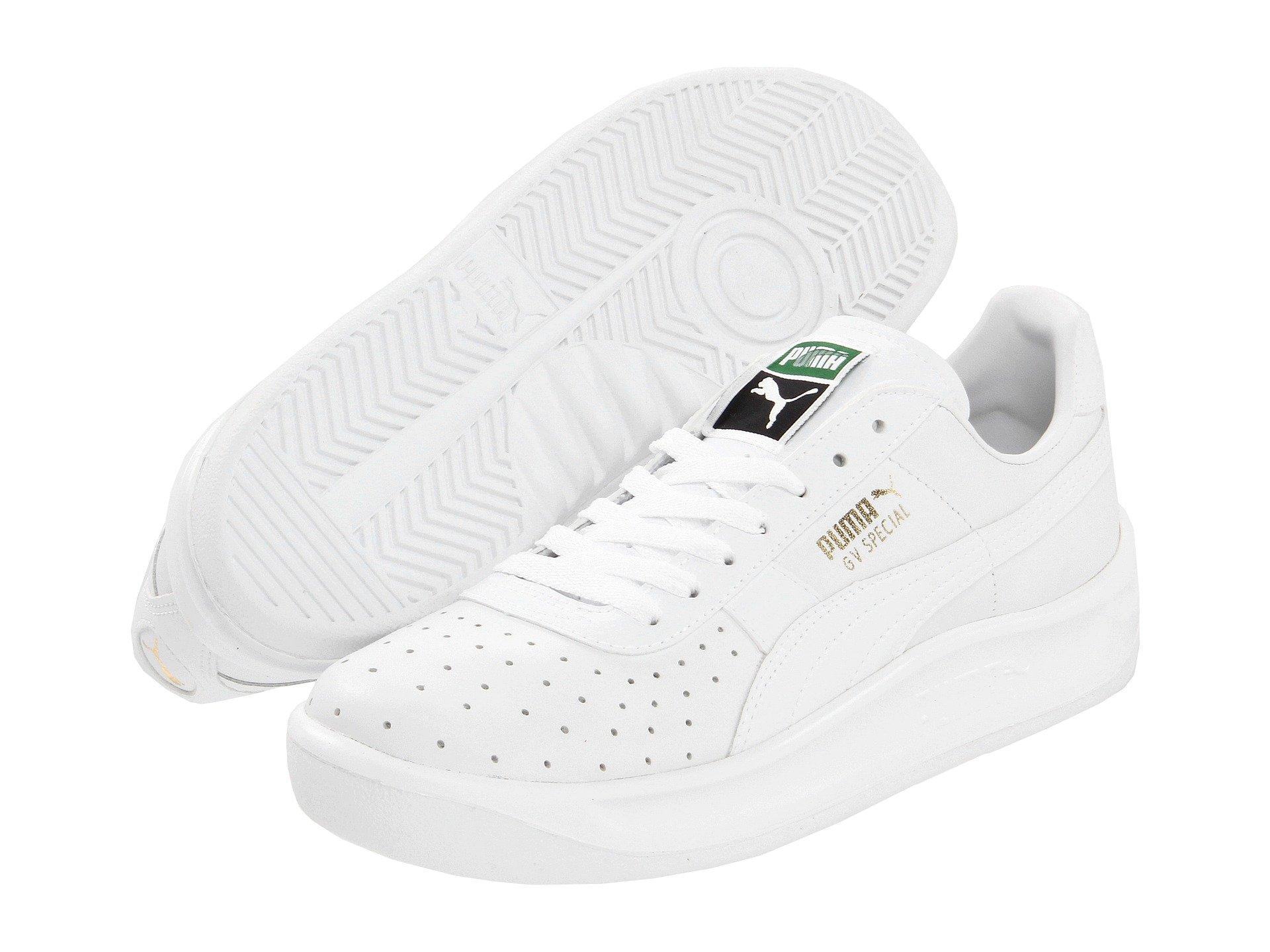 Pumas Shoes White Felt