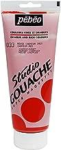 PEBEO Studio Gouache 220-Milliliter, Cadmium Red Imitation