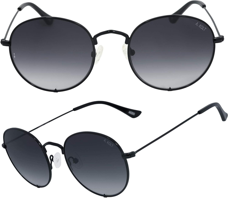 Alondra Kolt x HIGHKOLT The Round Sunglasses For Men and Women  Diff Vision UV400 Predection, 50mm AK2050