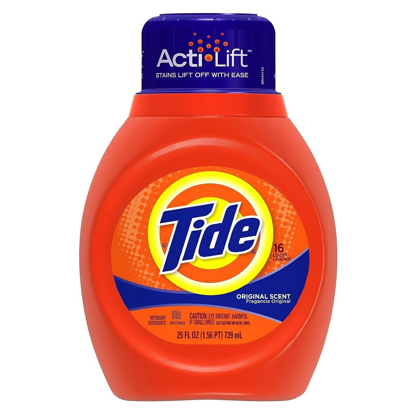 自動的にチャールズキージング肉腫Tide (タイド) 洗濯洗剤 液体 濃縮タイプ 739ml
