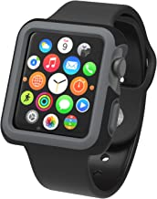 Speck Products 75226-5747 CandyShell Fit Case for Apple Watch 38mm, Onyx Black Matte
