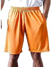 ティーシャツドットエスティー ハーフパンツ ドライ 無地 ポケット付き UVカット 4.4oz メンズ