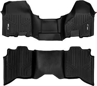 MAXLINER Floor Mats 2 Row Liner Set Black for 2012-2018 Dodge Ram 1500/2500/3500 Crew Cab (4 Full Size Doors)