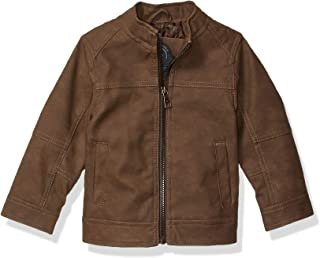 URBAN REPUBLIC Baby-Boys Boys Pu Suede Jacket Jacket
