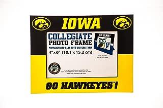 Collegiate Pulse Iowa Hawkeyes NCAA PVC Photo Frame