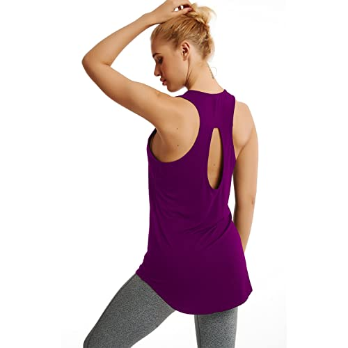 1108faa5f052d Duppoly Women Tank Tops Loose Fit Tunic Sexy Clubbing Tops Fast Dry Barre T  Shirt Cute