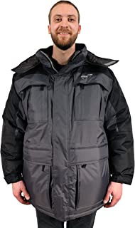 Warm Men's 3in1 Winter Jacket Coat Parka & Vest for Cold Weather