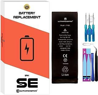 ultrapower100® batería Compatible con iPhone SE   Original Capacidad 1624 mAh  producción 2020, 0 ciclos de Recarga   Incluye Manual y Kit de Juego de Herramientas   Todos APN   Garantía de por Vida