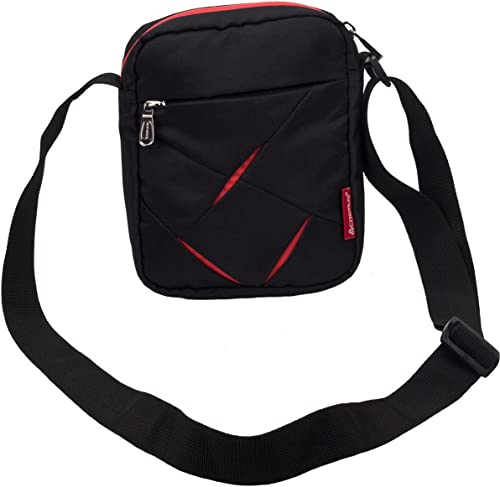 Small Sling Bag For Men Cosmus Index Small Bag For Mobile Wallet Black Red
