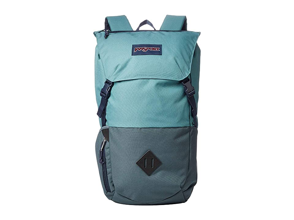 JanSport Pike (Frost Teal/Dark Slate) Backpack Bags
