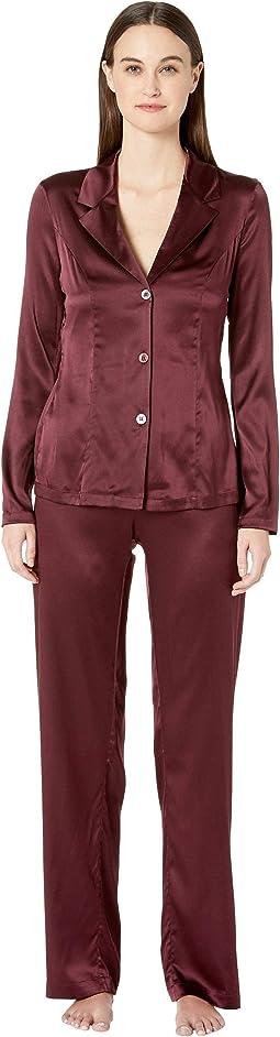 Silk Reward Long Pajamas