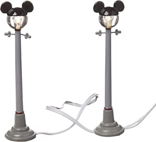 Department 56 Disney Village Mickey Street Lights General Accessory, 4.375 inch