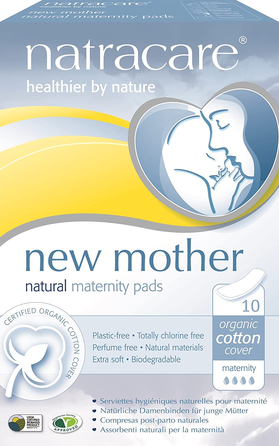 Natracare Maternity Pads pads cheap 10 Jacksonville Mall Multi-Pack