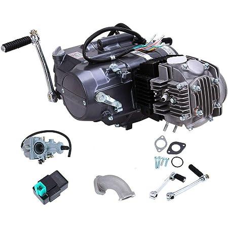 TFCFL 125cc Engine 4 Stroke Motor Single cylinder with Air-Cooled Motor Engine Pit Dirt Bike For Honda CRF50 CRF70 XR50 XR70 Dirt Pit Bike Motorcycle Spark Plug A7TC (125cc Engine 4 Stroke)
