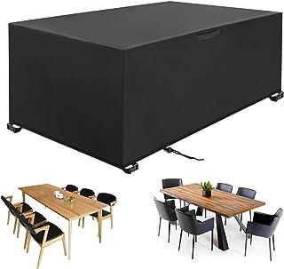 YISSVIC Housse Salon de Jardin 242 x 162 x 100cm 420D Oxford Housse de Protection Bâche de Table Imperméable Résistant à l...
