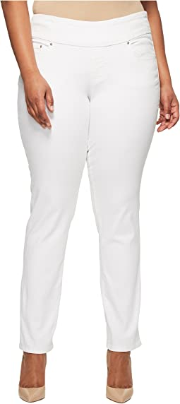 Jag Jeans Plus Size Plus Size Peri Pull-on Straight in After Midnight