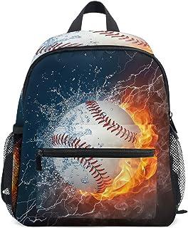 Mini mochilas de béisbol para niños y niñas, para preescolar, para jardín de infantes