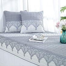 YANGBM Thickened Non-Slip Bay Window Pad/Windowsill Mat/Sofa Mat/Sofa Cushion, Suitable for Indoor Tatami Sofa Decor Home ...