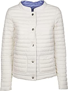 Herno Luxury Fashion Womens PI0631D192881008 White Down Jacket | Fall Winter 19