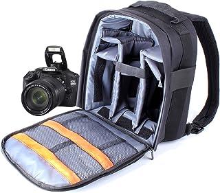 DURAGADGET Mochila De Nylon para Cámara Réflex Nikon D5100 / D5000 /D500 + Funda Impermeable Fotografiar Bajo La Lluvia!