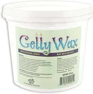 Gelly Candle Wax, 25-Ounce, Clear